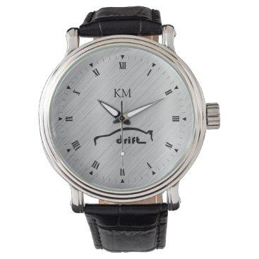 Personalized Mitsubishi EVO Drift Brushstroke Wristwatch