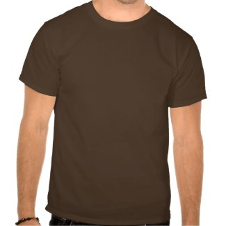 Personalized name BBQ t shirt for men | Brown