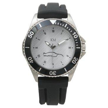 Personalized Nissan Skyline GT-R Brushstroke Watch