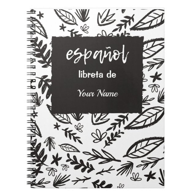 Personalized Spanish Notebook for Classes
