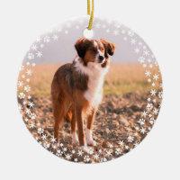 Pet Memorial Christmas Holiday Ornament