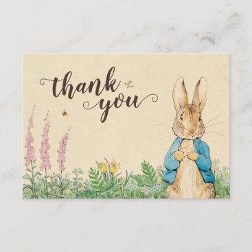 Peter Rabbit   Boy Baby Shower Thank You