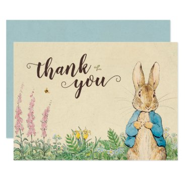 Peter Rabbit | Boy Baby Shower Thank You Card