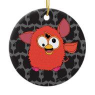 Phoenix Red Furby Christmas Ornaments