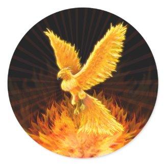 Phoenix Rising - Sticker sticker