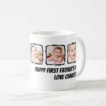 Photo Scribble Frame Personalized Father's Day Coffee Mug