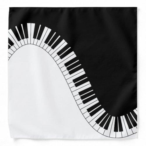 Piano Keyboard Bandana