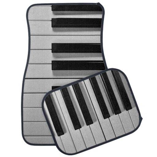 Piano Keyboard Custom Floor Mats | Zazzle