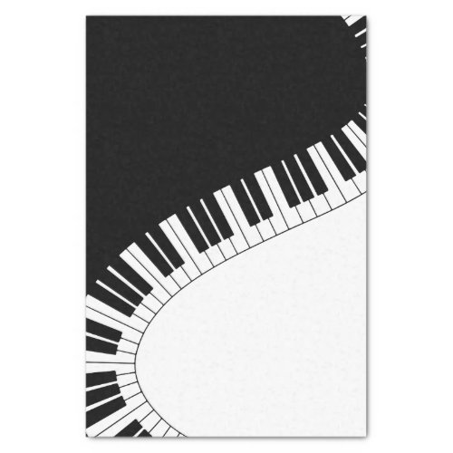 Piano Keyboard Tissue Paper