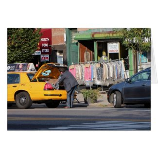Picking up Dry Cleaning-Brooklyn Streets
