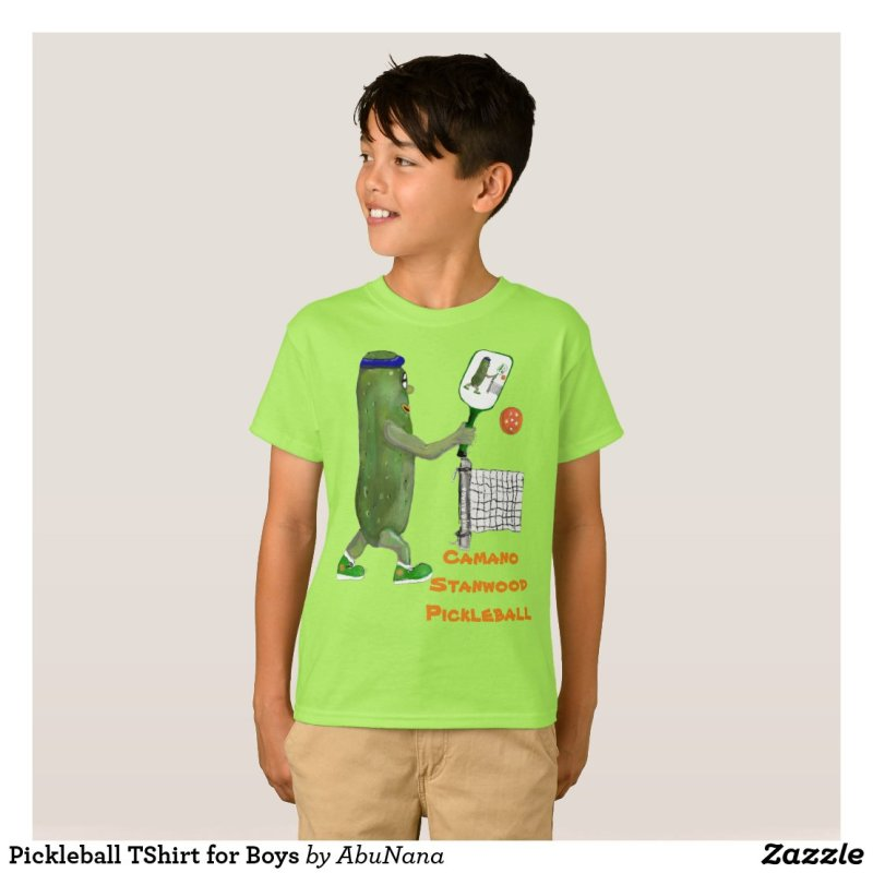 Pickleball TShirt for Boys