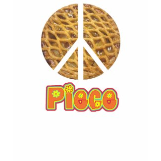 Piece Apple Pie Peace Sign T-Shirt shirt