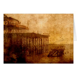Pier into the Depths Greeting Card