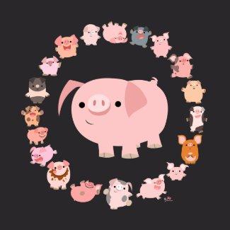 Pig Mandala T-Shirt