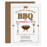 Pig Roast BBQ Barbecue Birthday Party Invitation