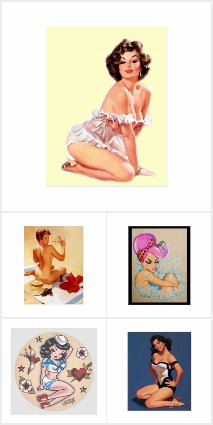 Pin Up Pieces