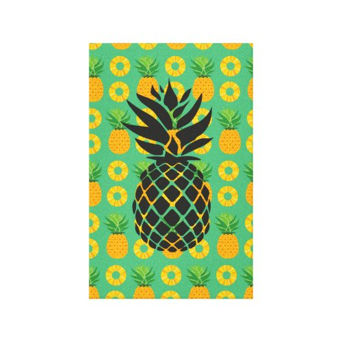 Pineapple Party Picture Canvas Print