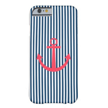 Pink anchor barely there iPhone 6 case