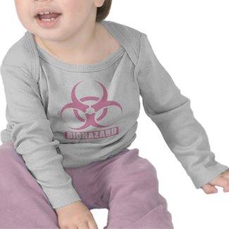 Pink Biohazard shirt