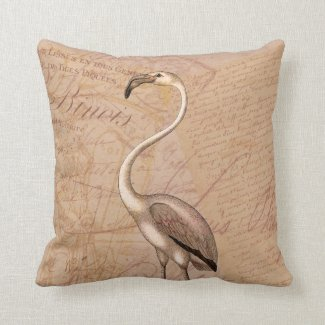 Pink Flamingo Pillows