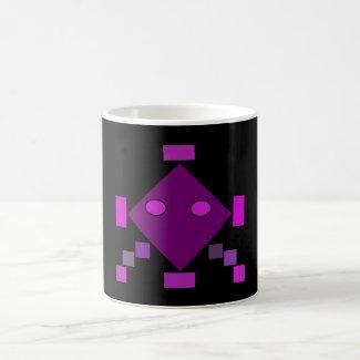 Pink Geometric pattern Mug