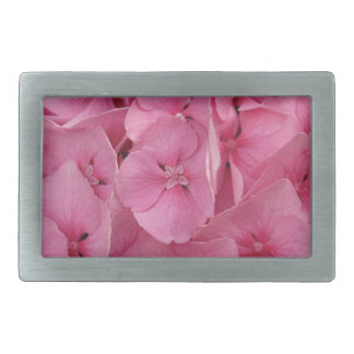 Pink Hydrangea Belt Buckles