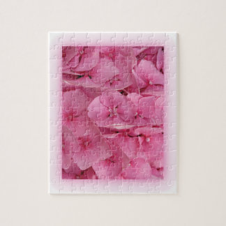 Pink Hydrangea Jigsaw Puzzles