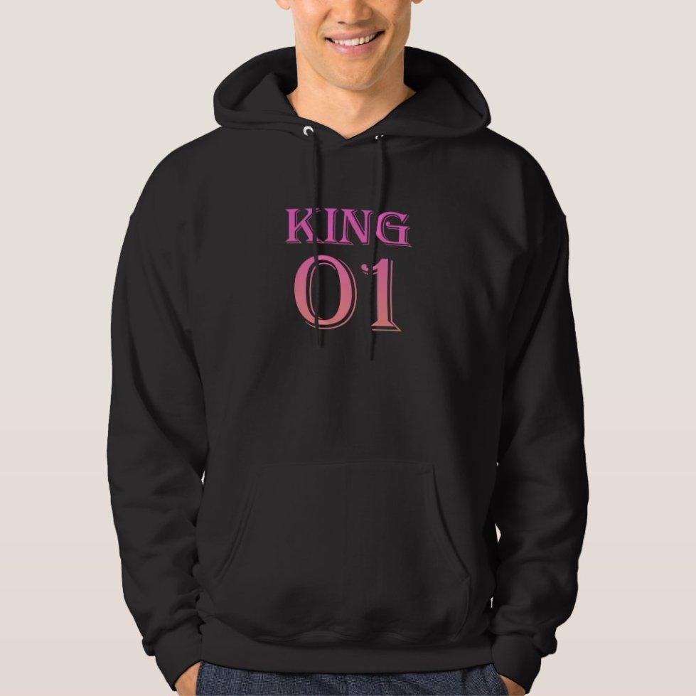 Pink King 01 Hoodie