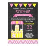 ❤️ Pink Lemonade Birthday Invitation