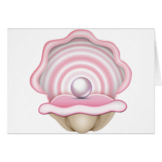 Pink Pearl Oyster Card
