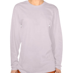 Pink Ribbon of Words Breast Cancer Long Sleeve Shirts