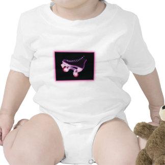 Pink Rollerskate Xray Tshirt