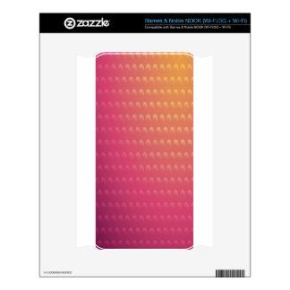 Pink To Orange Gradient Waves NOOK Skin