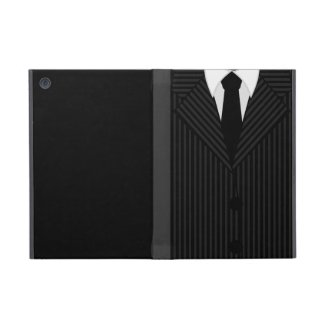 Pinstripe Suit and Tie Powis iCase iPad Mini Case