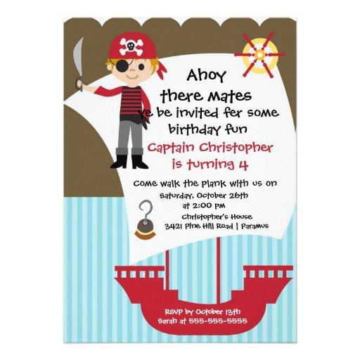 personalized boy birthday party invitations custominvitations4u com