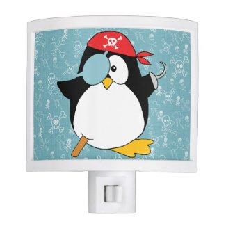 Pirate Penguin Graphic Night Lites
