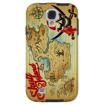Pirate Skull Island Location Samsung Galaxy S3 Galaxy S4 Case