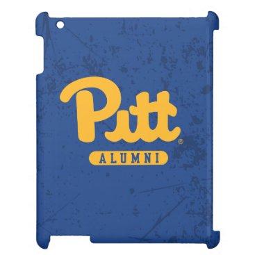 Pitt Alumni Distressed Case For The iPad