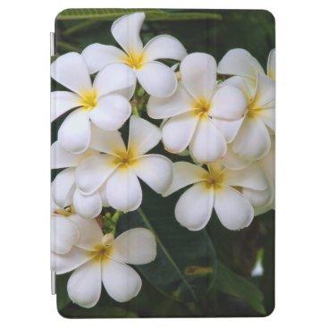 Plumeria Cascade Tropical Flowers iPad Air Cover