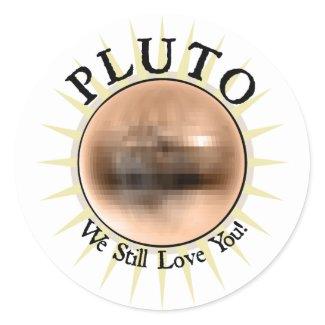 Pluto - We Still Love You sticker