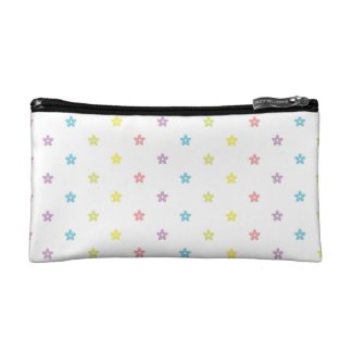 Polka Dot Colorful Pastel Makeup Bags