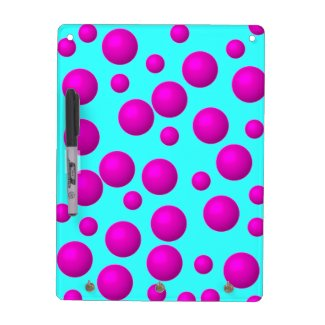 Polka-Dot Dry Erase Boards