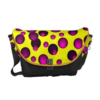 Polka-Dot Messagner Bags Messenger Bag