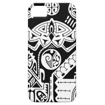Polynesian tattoo case for Galaxy S3