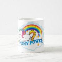 Pony Power Unicorn Mug