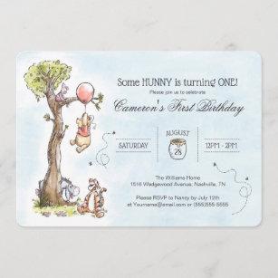 winnie the pooh invitations zazzle