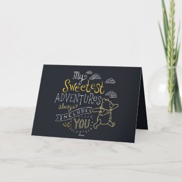 Pooh | My Sweetest Adventures Card