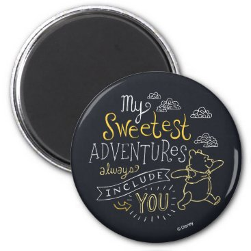 Pooh | My Sweetest Adventures Magnet