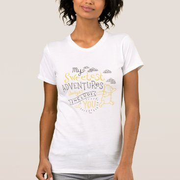 Pooh | My Sweetest Adventures T-Shirt