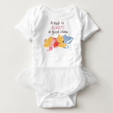Pooh & Piglet | A Nap is Always a Good Idea Baby Bodysuit